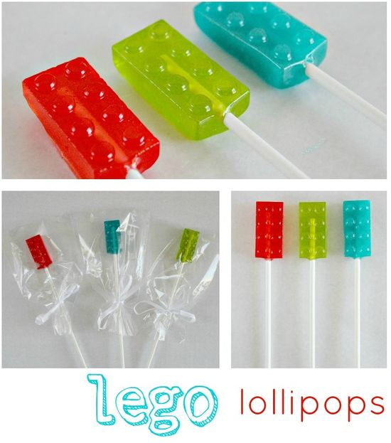 How to Make Lego Lollipops