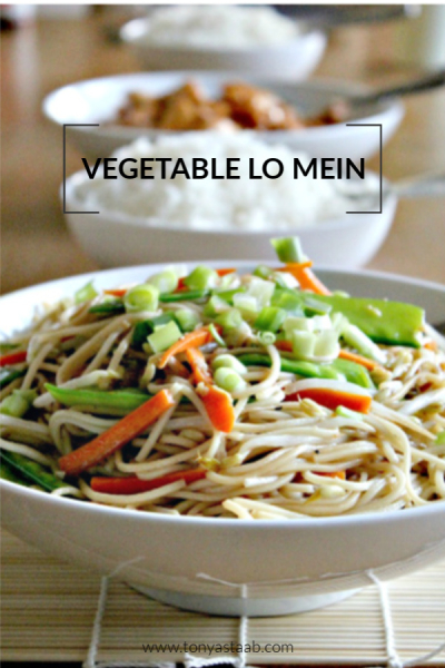 Quick and easy vegetable lo mein recipe