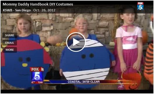Fox 5 handmade costume segment video