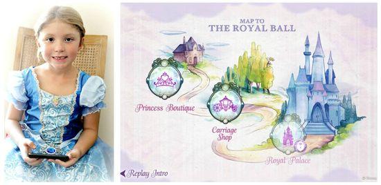 Disney Princess Royal Ball app