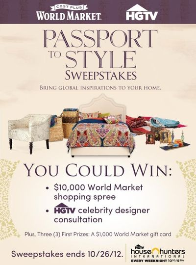 Passport to Style Sweepstakes