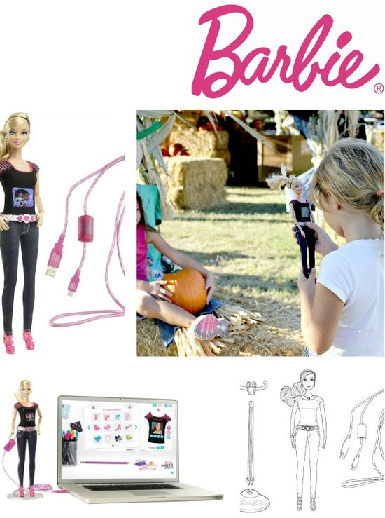 How to use the Barbie Photo Fashion Doll
