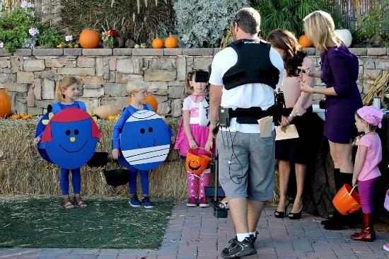 Fox 5 Halloween Homemade Costume segment