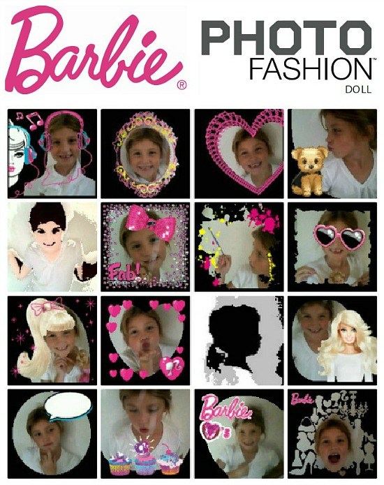 Barbie Photo Fashion Doll photo effects
