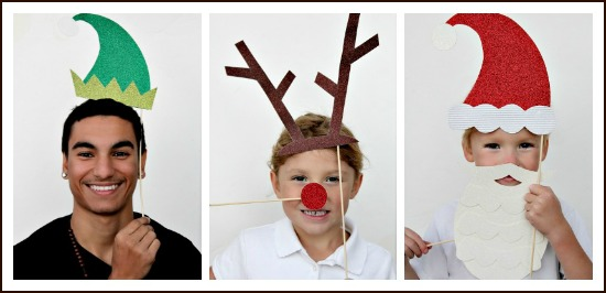 Christmas props for Holiday Photos