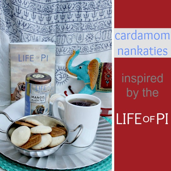 Cardamom Nankaties inspired by the Life of Pi