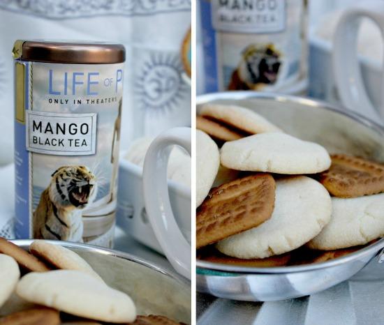 Life of Pi Mango Tea and Cookies