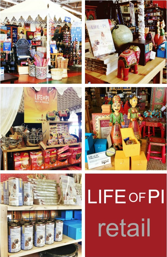 Life of Pi Retail at Cost Plus World Market