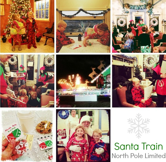 Pacific Southwest Railway Santa Train