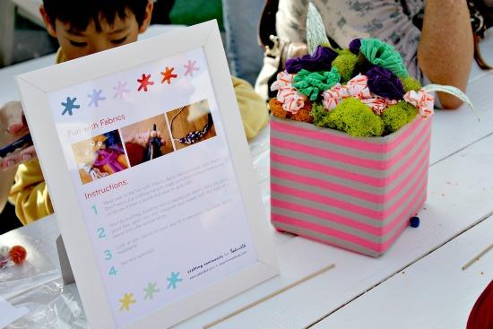 splendid and crafting community event