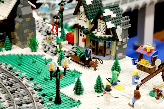 Lego Christmas Display