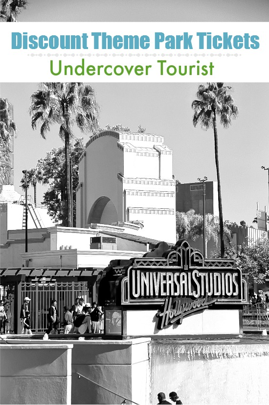Undercover Tourist | Discount Theme Park Tickets to Universal Studios #UndercoverTourist #ad #themepark #discounts