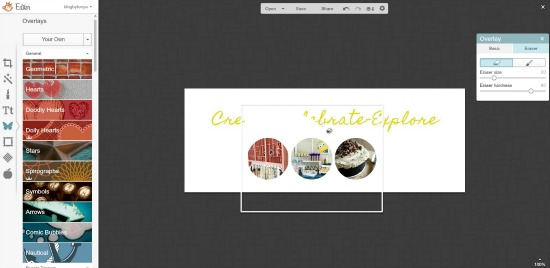 How to add your own image overlays and color codes in PicMonkey