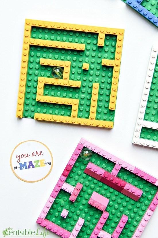 mini lego marble mazes