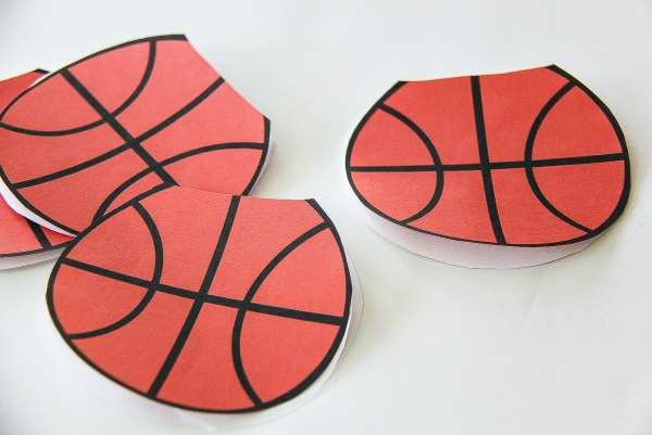 paper basketballs cut out
