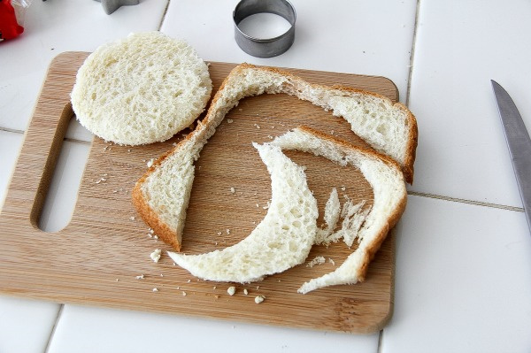 how to make a circle sandwich