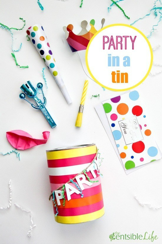 party fun in a tin can you can mail