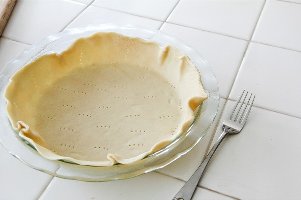 pastry in a glass pyrex dish