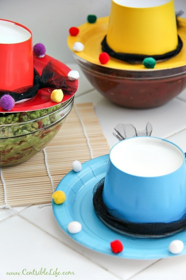 sombrero paper plate and cup craft