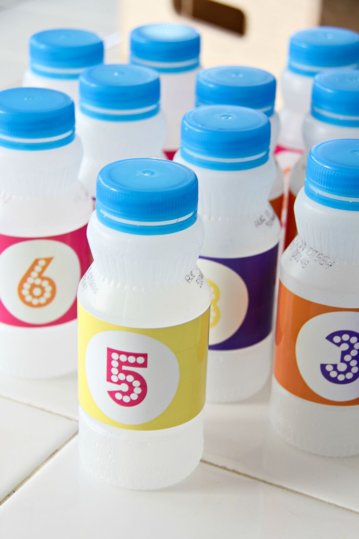 a SunnyD bottle craft