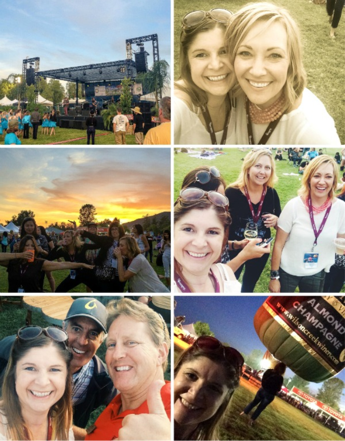 temecula valley balloon and wine festival collage