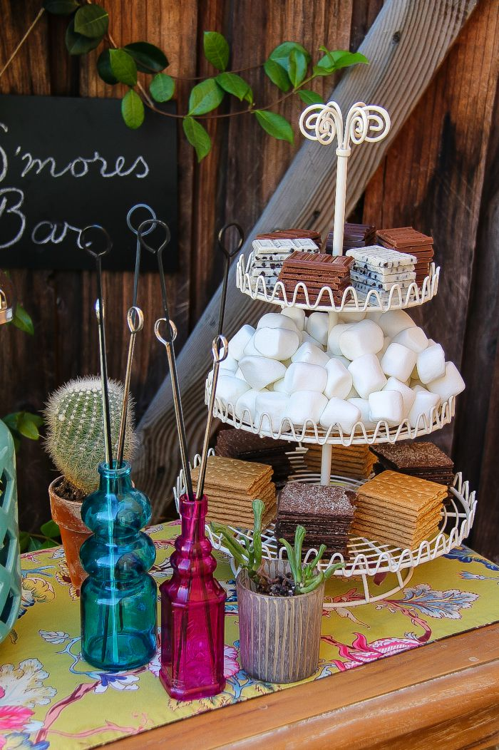 How To Set Up A S Mores Bar For Summer Entertaining Tonya Staab