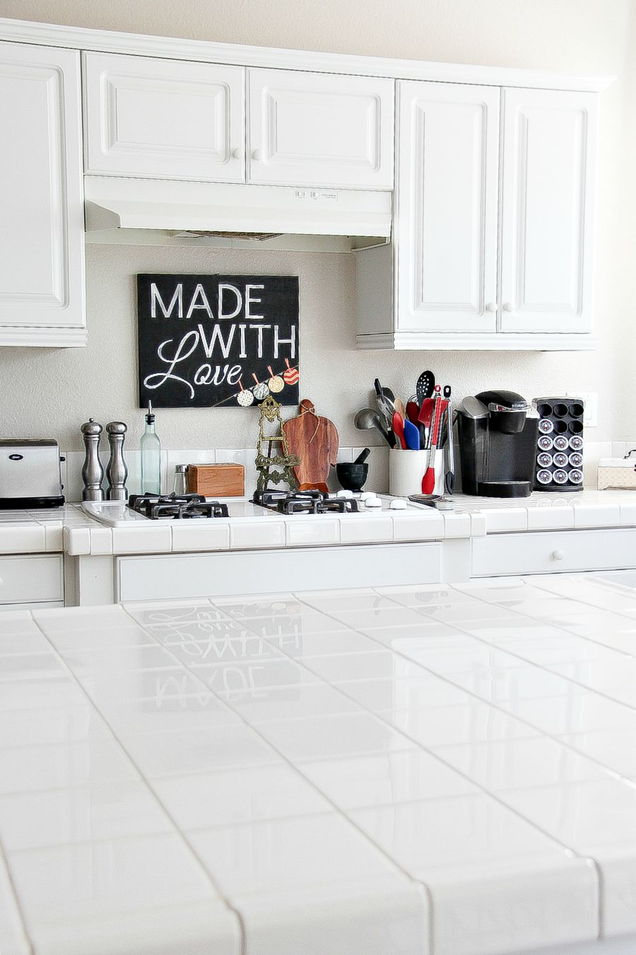 How To Clean Kitchen Counter Tile Grout Tonya Staab