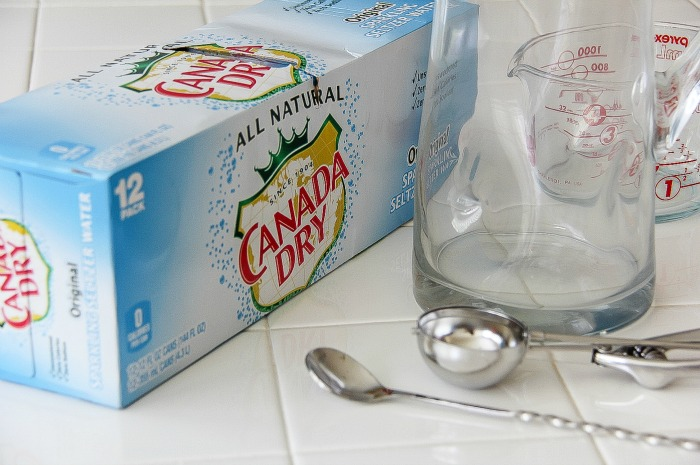 case of canada dry sparkling seltzer water