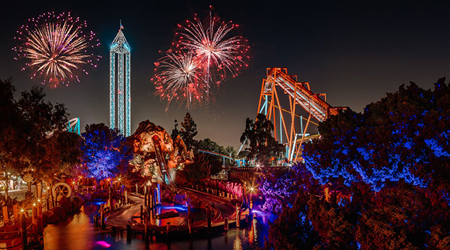 knotts berry farm new years eve fireworks