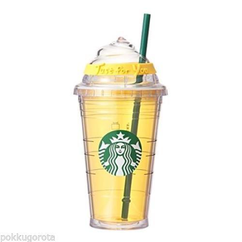 yellow starbucks tumbler