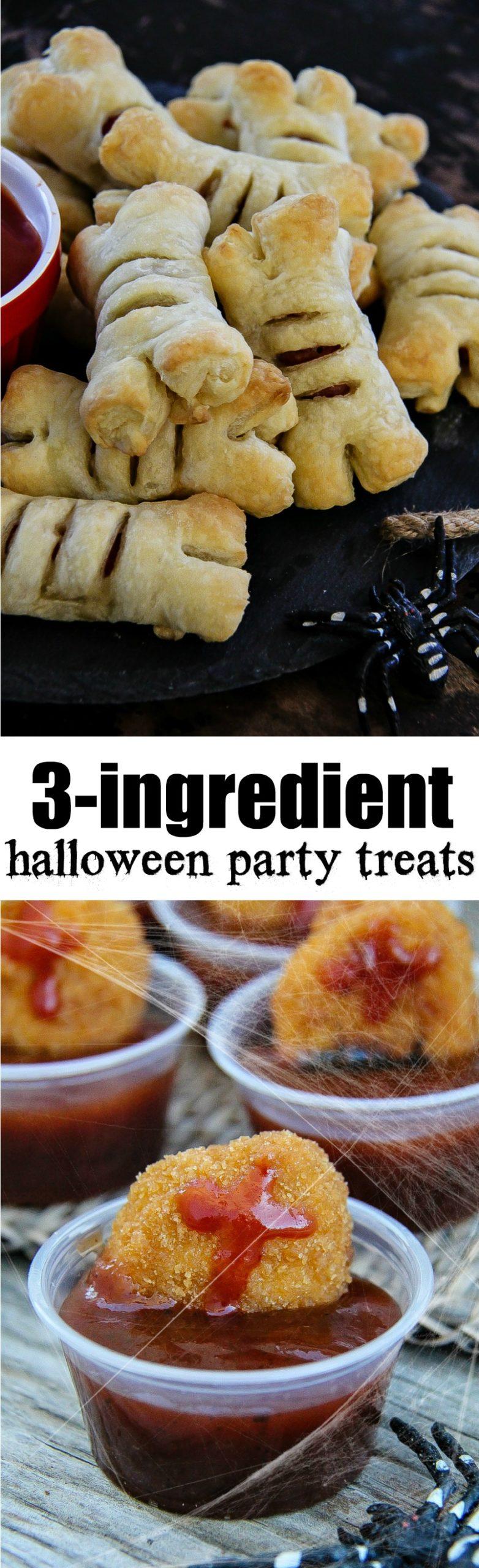Halloween food ideas Pinterest image