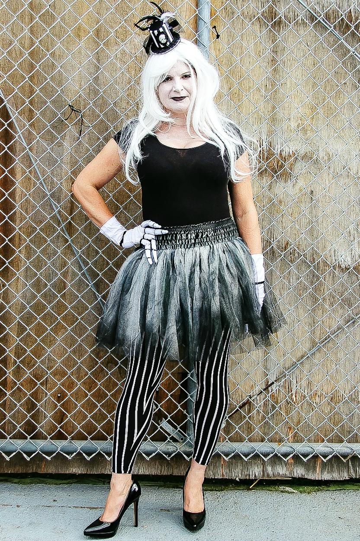 Jack Skellington costume for women
