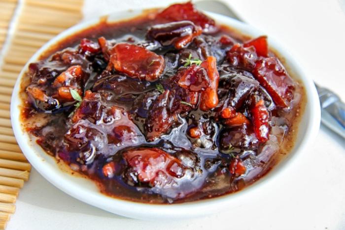 homemade cherry bacon jam recipe