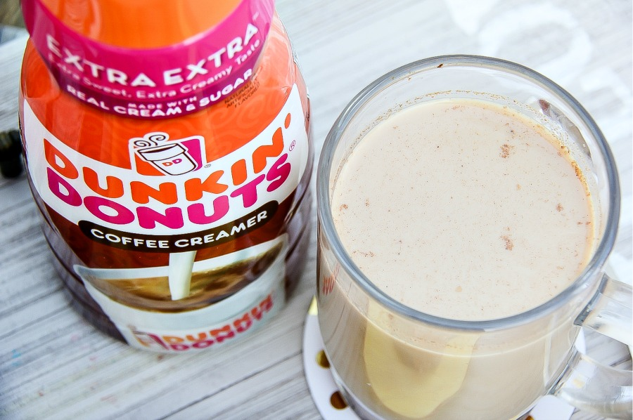 Dunkin Donuts coffee creamer