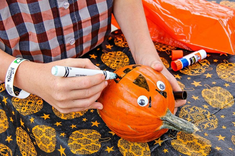 jack olantern ideas for pumpkins that aren't carving