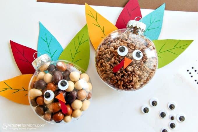 turkey ornament treats