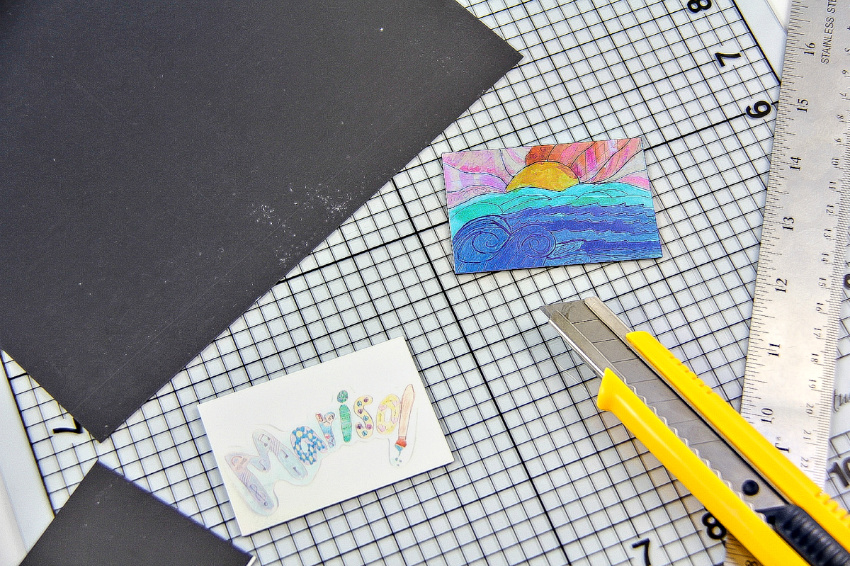 A tutorial for making homemade magnets out of magnet sheets.