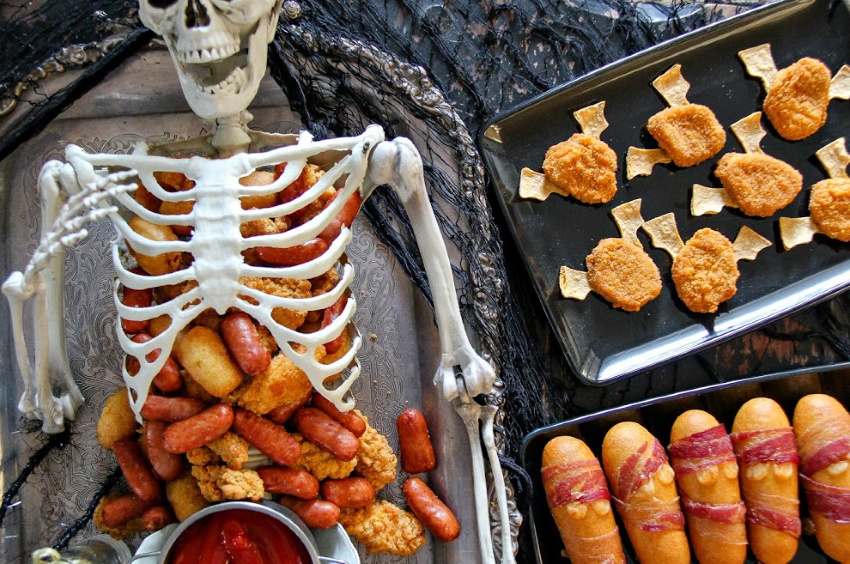 Halloween hot food that only need 3 ingredients to make and kids will love