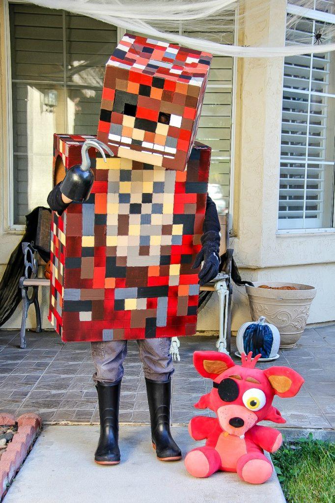 Minecraft Foxy handmade costume