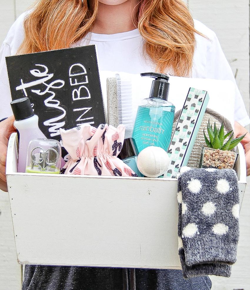spa day gift box