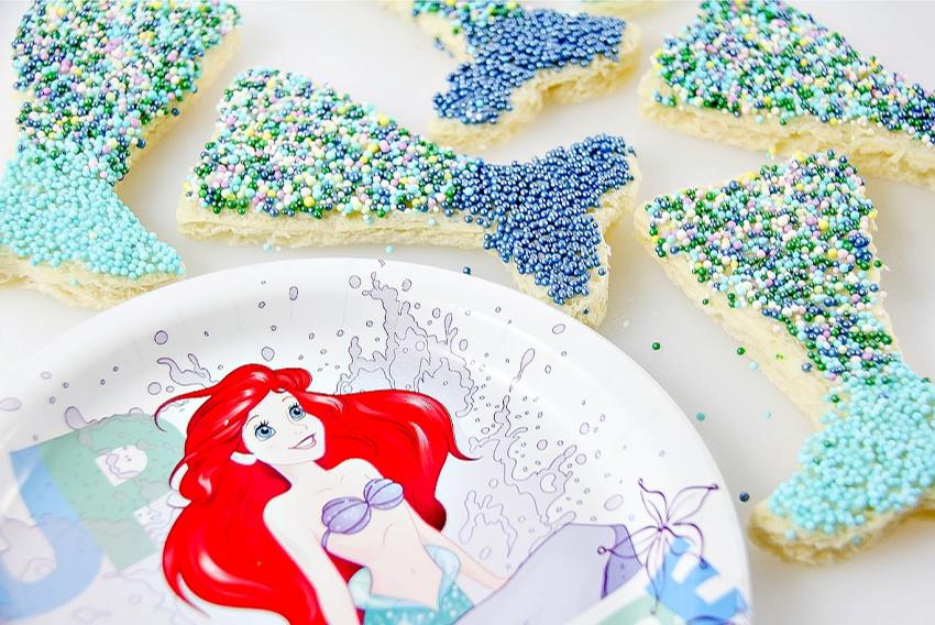 mermaid tale fairy bread