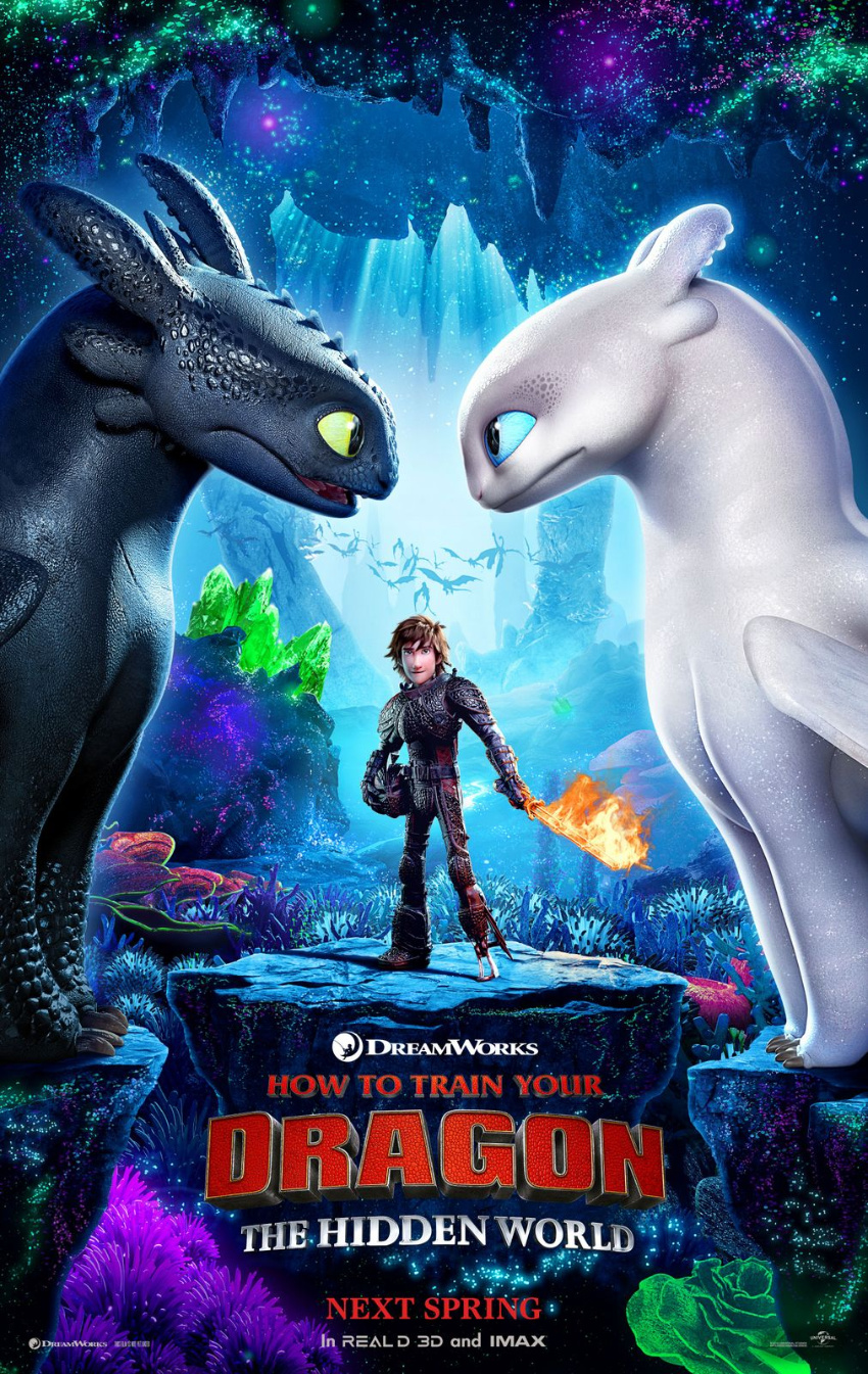 How to Train Your Dragon movie poster.