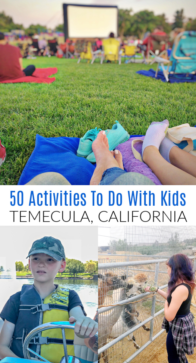 50 things to do in Temecula Pinterest image