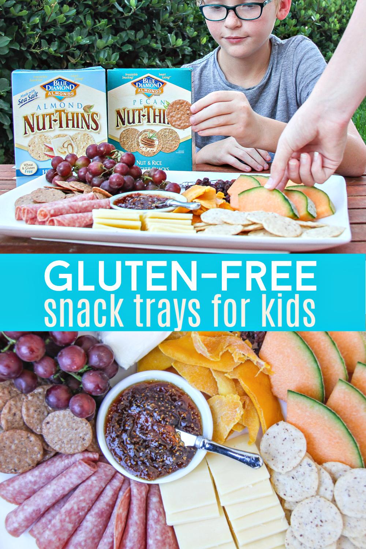 gluten-free charcuterie board Pinterest image