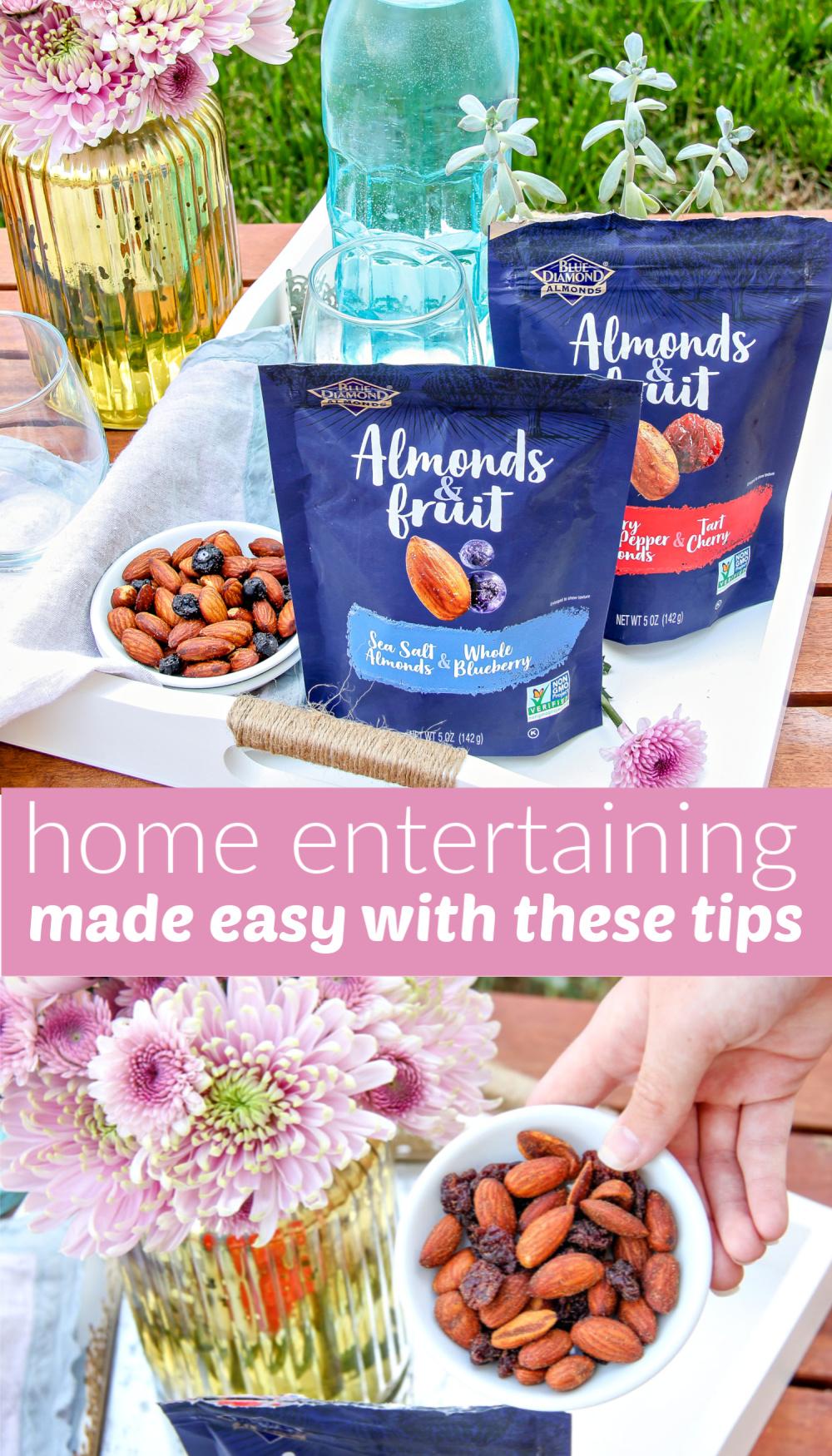 Home entertaining tips Pinterest image