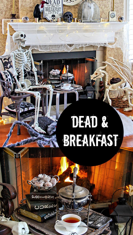 Dead and Breakfast Inn Pinterest image.