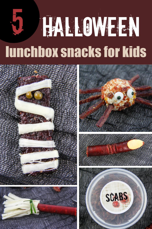 Halloween treats you can make using Jack Links jerky Pinterest image