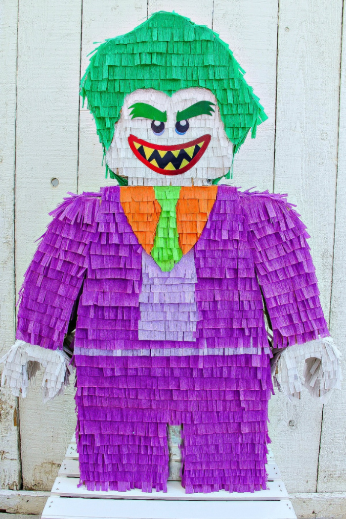Celebrate The Lego Batman Movie With A Diy Joker Pinata Tonya Staab