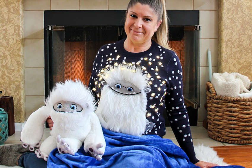 Abominable ugly sweater diy