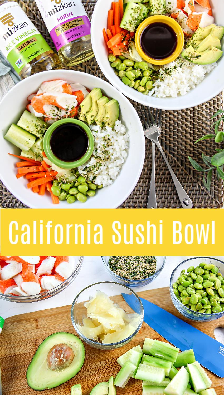 California sushi bowl Pinterest image.